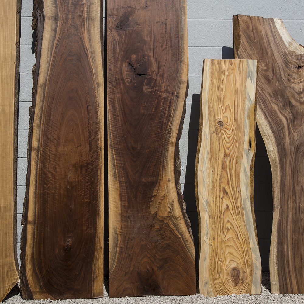 In The Raw - Every tree we mill reveals an opportunity. We let the nuances of the wood guide us.