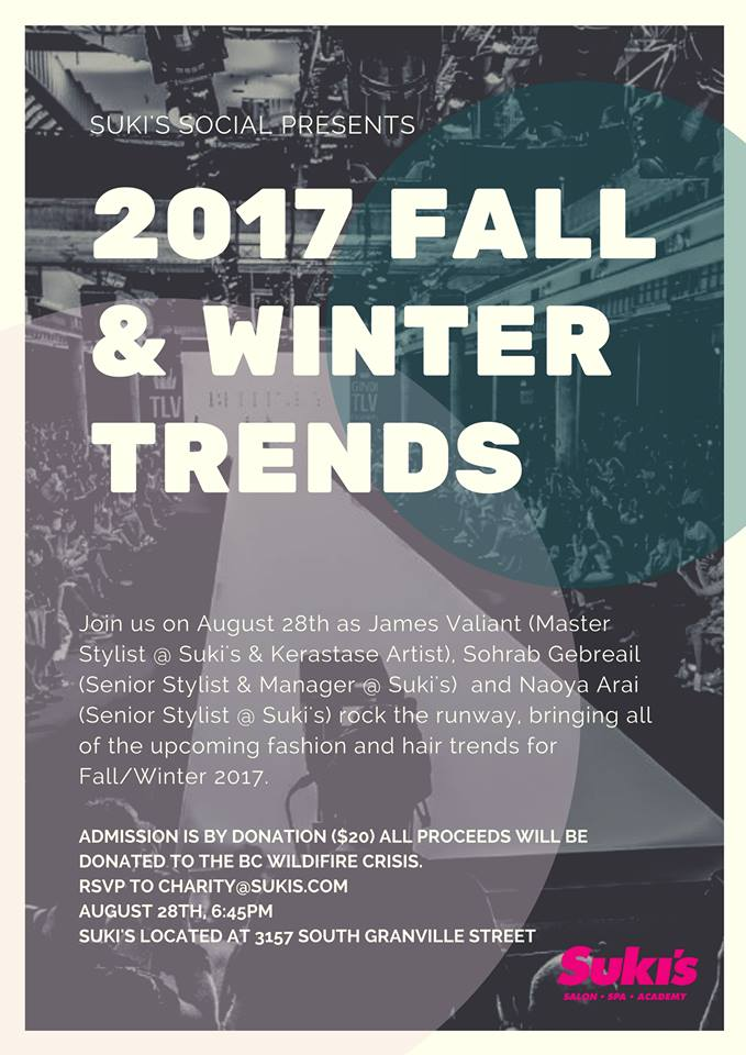 Suki's Socials | 2017 Fall and winter trends