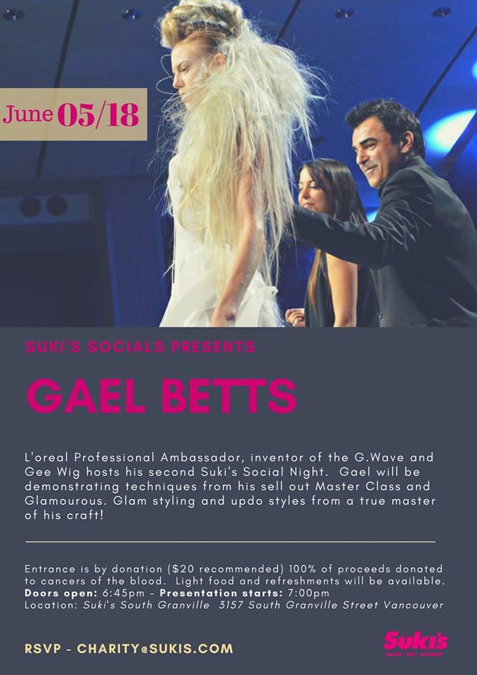 Suki's Socials | Gael Betts | Suki's Vancouver