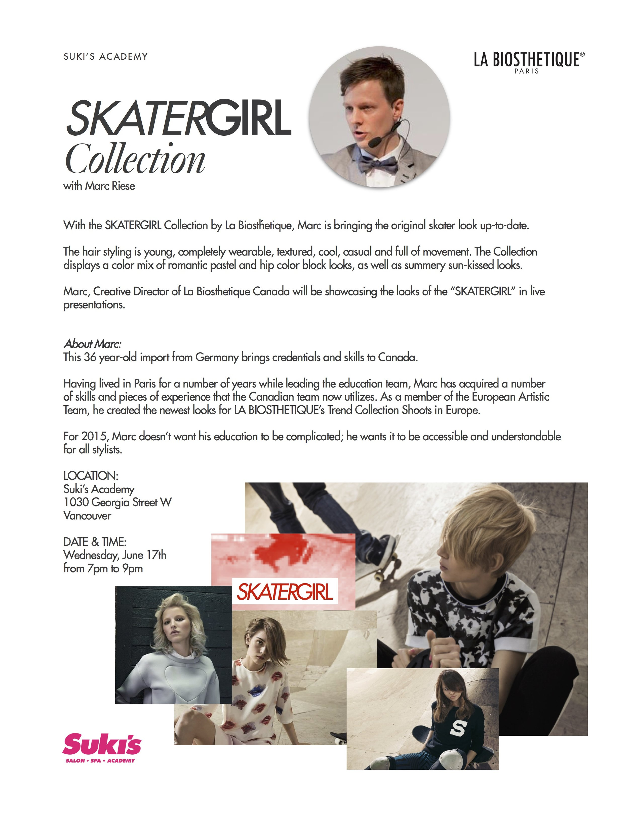Suki's Socials | Marc Riese | Suki's Vancouver