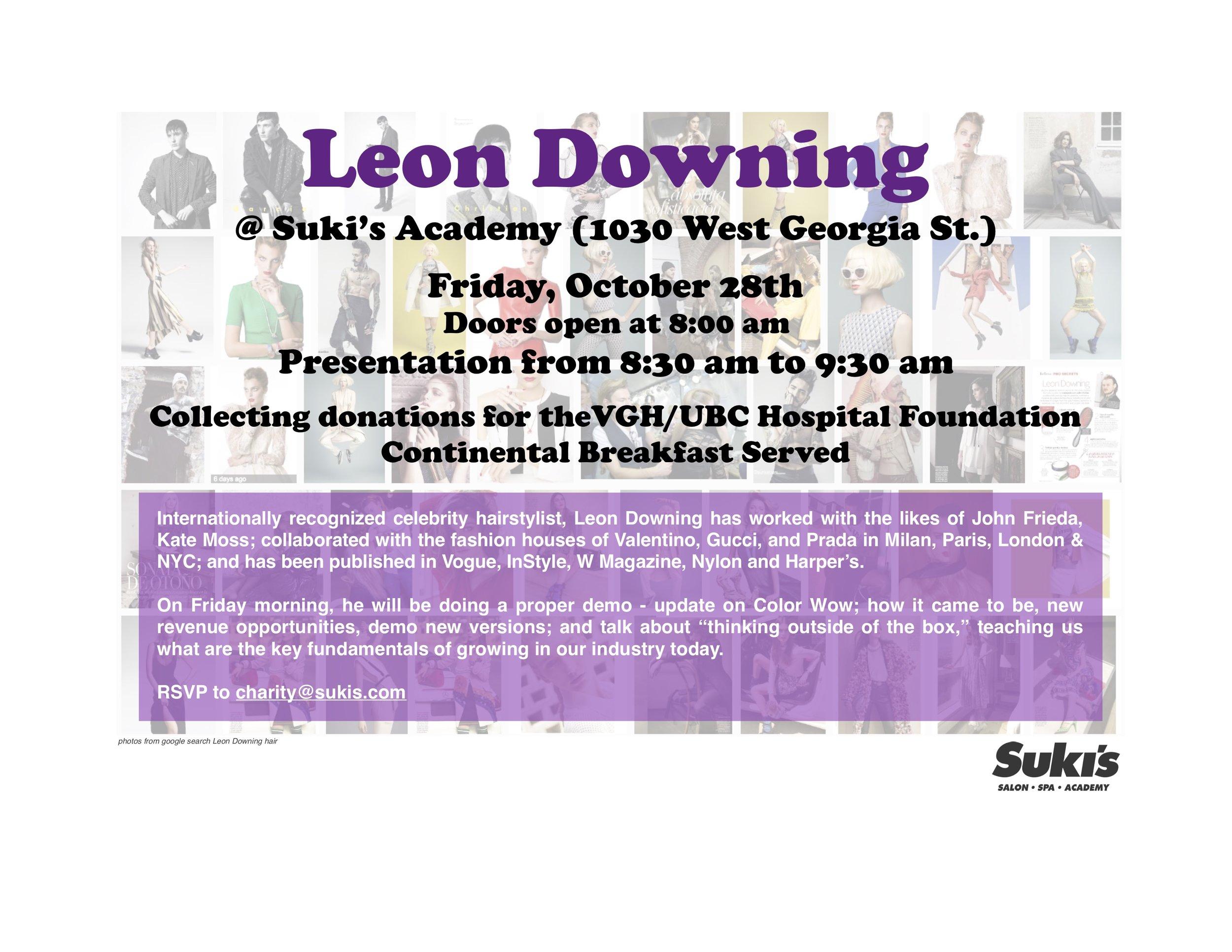 Suki's Socials | Suki's Vancouver | Leon Downing