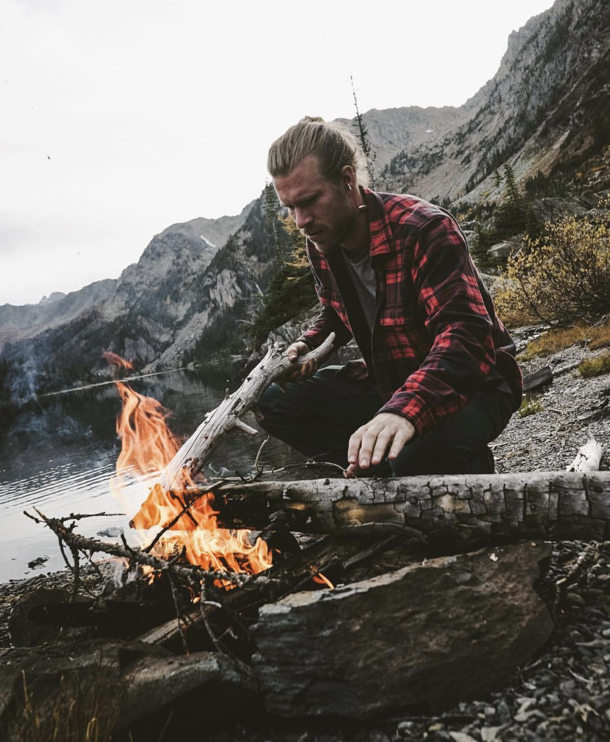 Jamo Gilbert - Jamo is our camp cook. His food is almost as good looking as he is. Not only is Jamo a phenomenal camp chef, but he is also a rock climber and a talented painter. Jamo can't wait to cook some beautiful camp meals for you.@jamogilbs