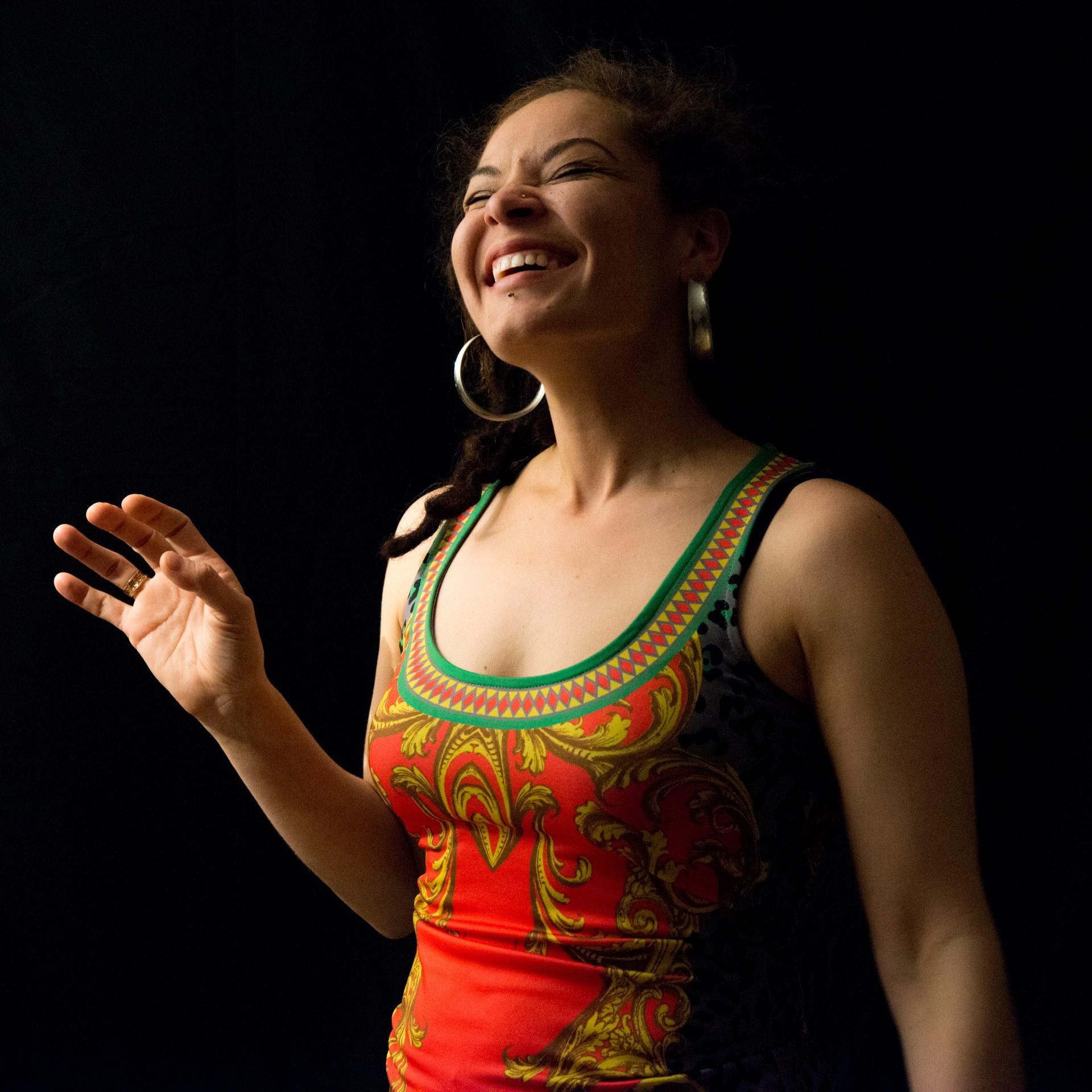 Gina Laughing