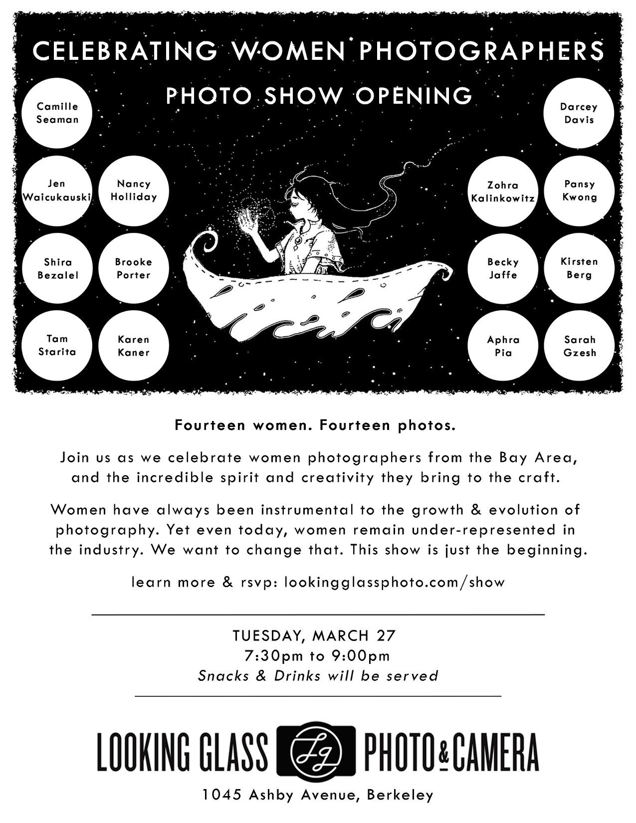 Celebrating Women Photographers
