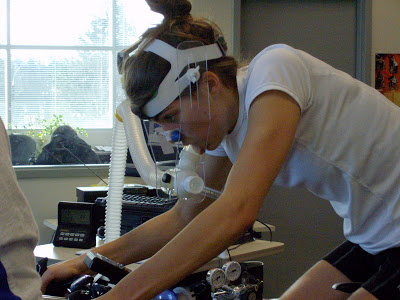 VO2max testing by the AIS as reported by  Katya Crema