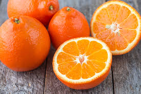 Tangelos can be found on the shelves from September through to December; A cross between a grapefruit and tangerine has unique flavour profile making it a delicious fruit to add to the fruit bowl. -