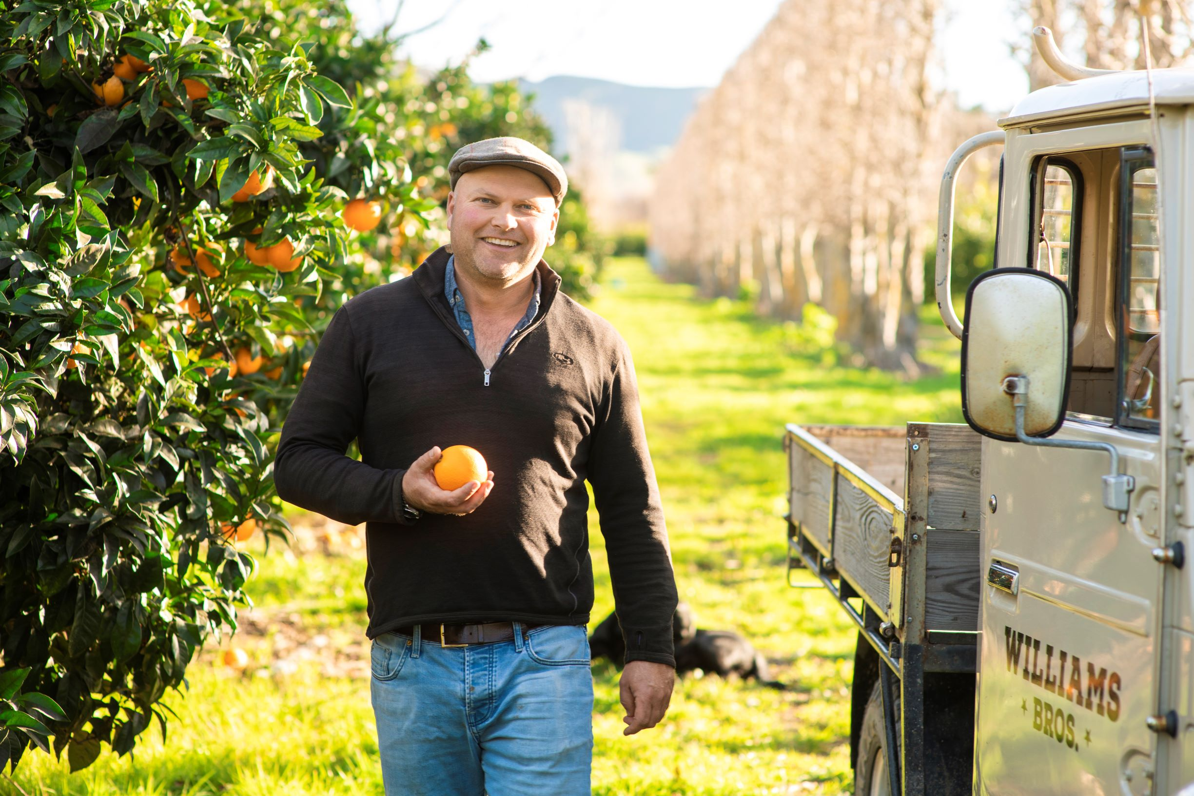 james williams - the passionate fruit grower