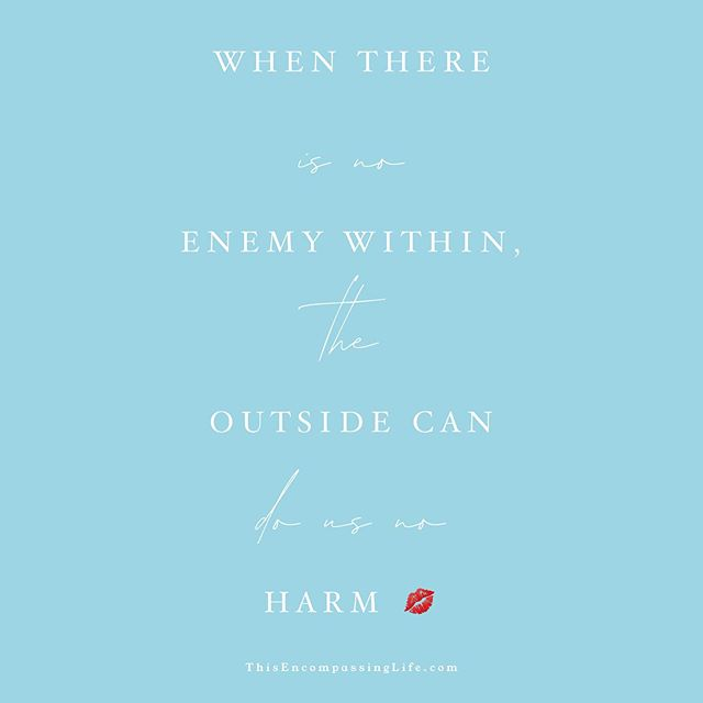When there is no enemy within, the outside can do us no harm. . . . Are YOU your own worst critic? . If you nitpick every detail and critique yourself daily - sometimes without even realizing it - it does a number on your self-esteem, your productivity, your attitude, your outlook on life... . Now, if this doesn't apply to you, pat yourself on the back & tell yourself GOOD JOB!!! If it does, then read on 😚 . Your inner self-critic needs to PRACTICE & LEARN to focus on your STRENGTHS. This is much more productive way to reprogram your mind (literally your 🧠!) to success & happiness than when you are fixated on your weaknesses. . When you find yourself saying negative things about yourself, or hopefully catching the THOUGHTS before they become 🗣 words, redirect your mind to saying 3 positive, affirming things about yourself instead. And trust me sista, this is challenging, it is difficult, but I promise you when you intentionally do this you CAN & WILL notice a change in your life😊 . So, simply ignoring self-criticism is not enough. You have to combat it with affirmations of your ability to succeed. Even if you don't fully believe (in yourself) you are affirming your ability to achieve. I do this every evening when reflecting on my day, setting a game plan for the next day; affirmations before going to bed sets you up for success the next day. . . . Repeat - and repeat again- after me... . I am more than enough 💋 . . . . . #Negative #Positive #Criticism #Affirmations #Happy #Strengths #SelfLove #normal #healthy #paralyzing #heart #ICan #IAm #IAmEnough #success #IWill #YouAreMoreThanEnough #Expectations #achievement #BuildYourStrengths #ThisEncompassingLife #southafrica #cbdhealth #EMRIS #Living4Keto #loveyourself
