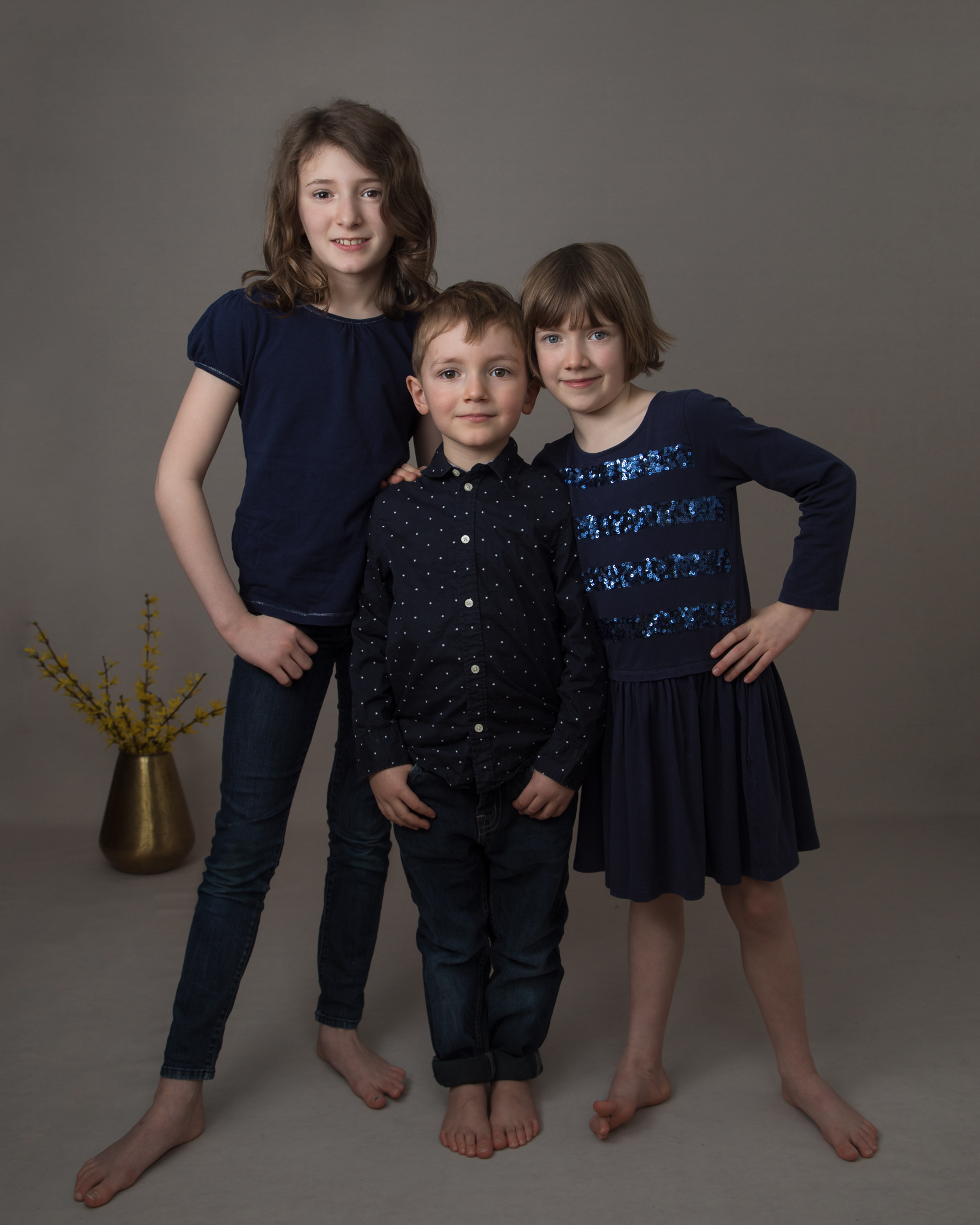 Family photography in studio, Herne Hill, London