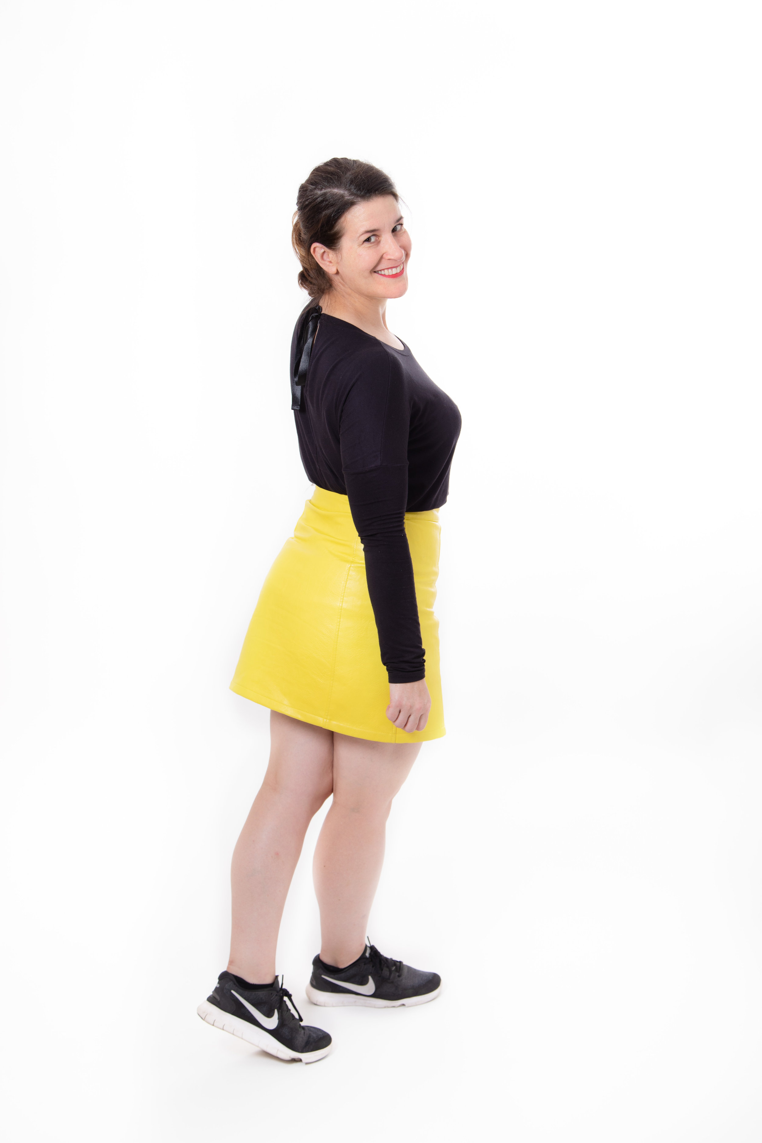 Alix, fast stepping fitness & step instructor, Brockwell Park, Herne Hill, London