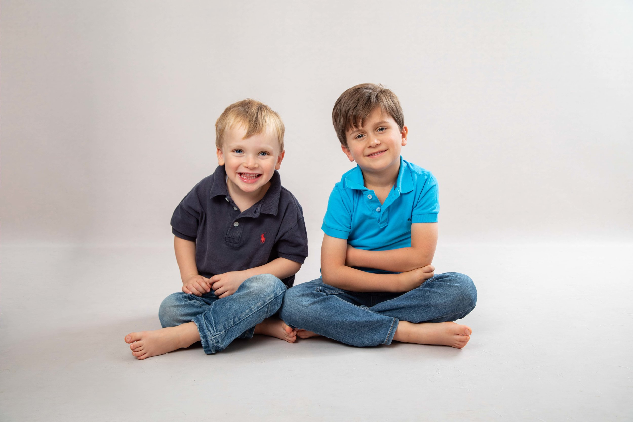 Family photography in studio, Dulwich SE21, London