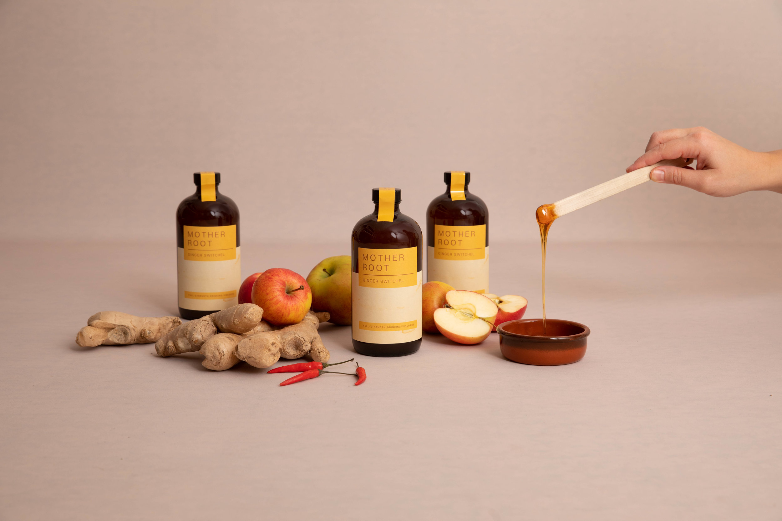Product photography for East Dulwich based Mother Root London
