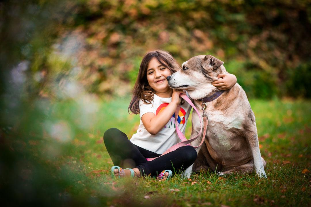 Family dog photography London