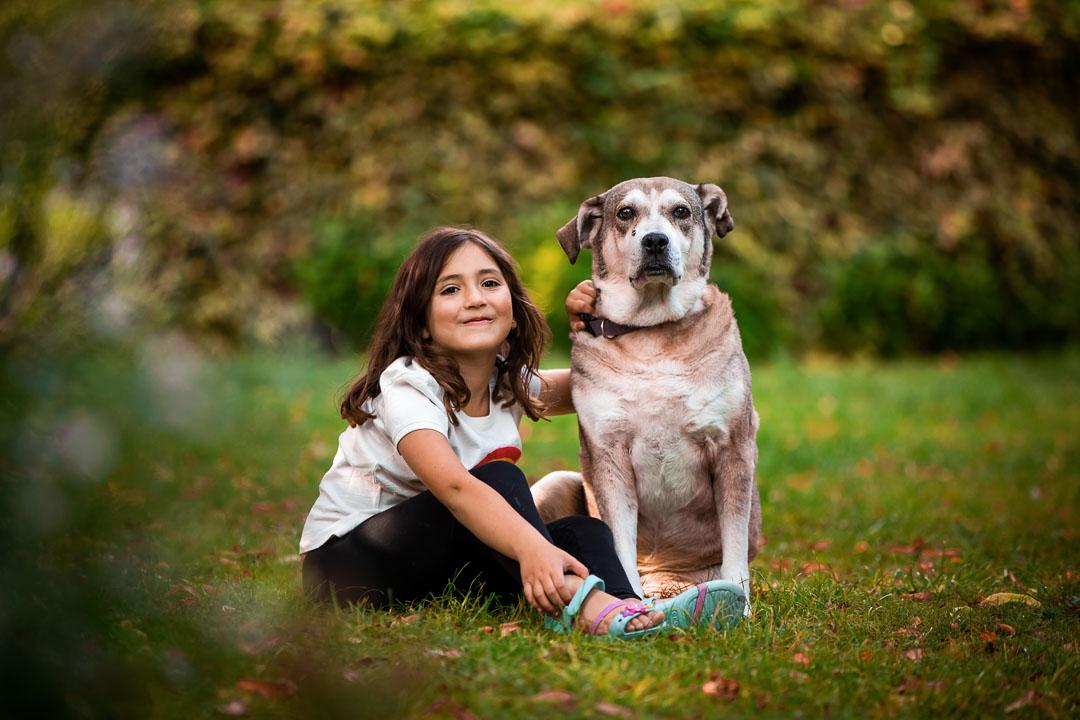 Family & dog photographer London