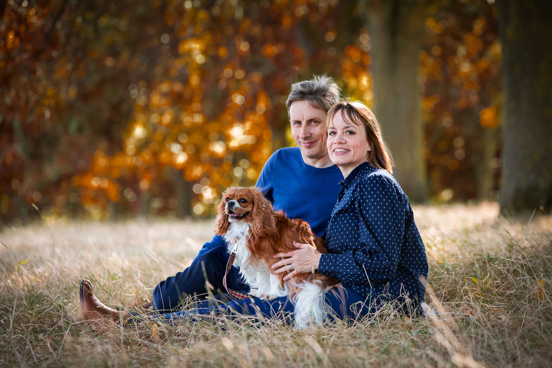 Family and dog photographer London