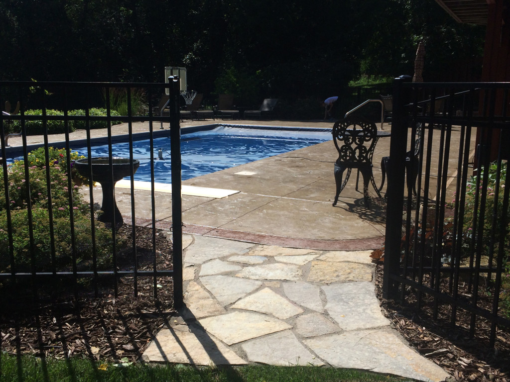 Poolside Walkways -