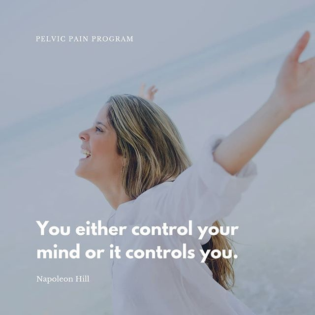 Don't let your mind take control over you, instead exercise your mind to fill it with positive and powerful thoughts. What you believe, you can achieve. ------------------------------------------------------------------ 😇 Healing is Possible! 📌 Click link in bio for more details. 📱Follow @pelvicpainprogram for more. 🌐 pelvicpainprogram.com
