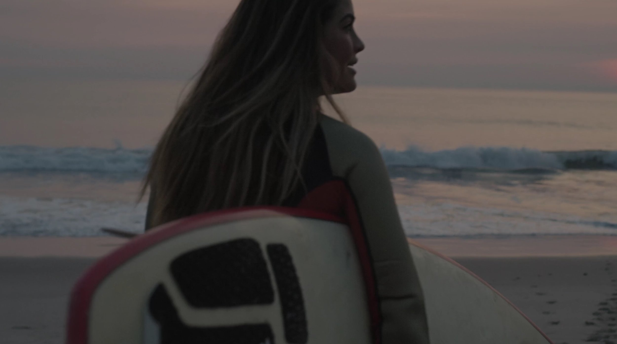 Scene from Kia Rio Launchfilm - shot in Malibu, California