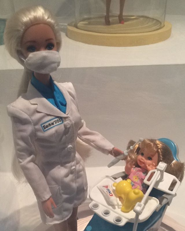 Cute Barbie for aspiring dentists!