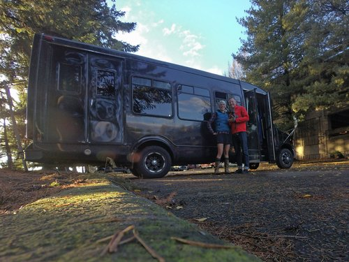 We are just about to begin the first winter in our bus tiny house, and we still have so much work to do.