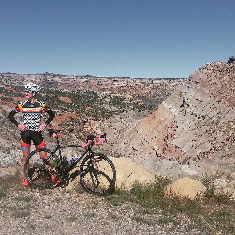 One of my favorite rides was the Monument Loop. I must have gone up about twice a week while we were in Grand Junction, CO.