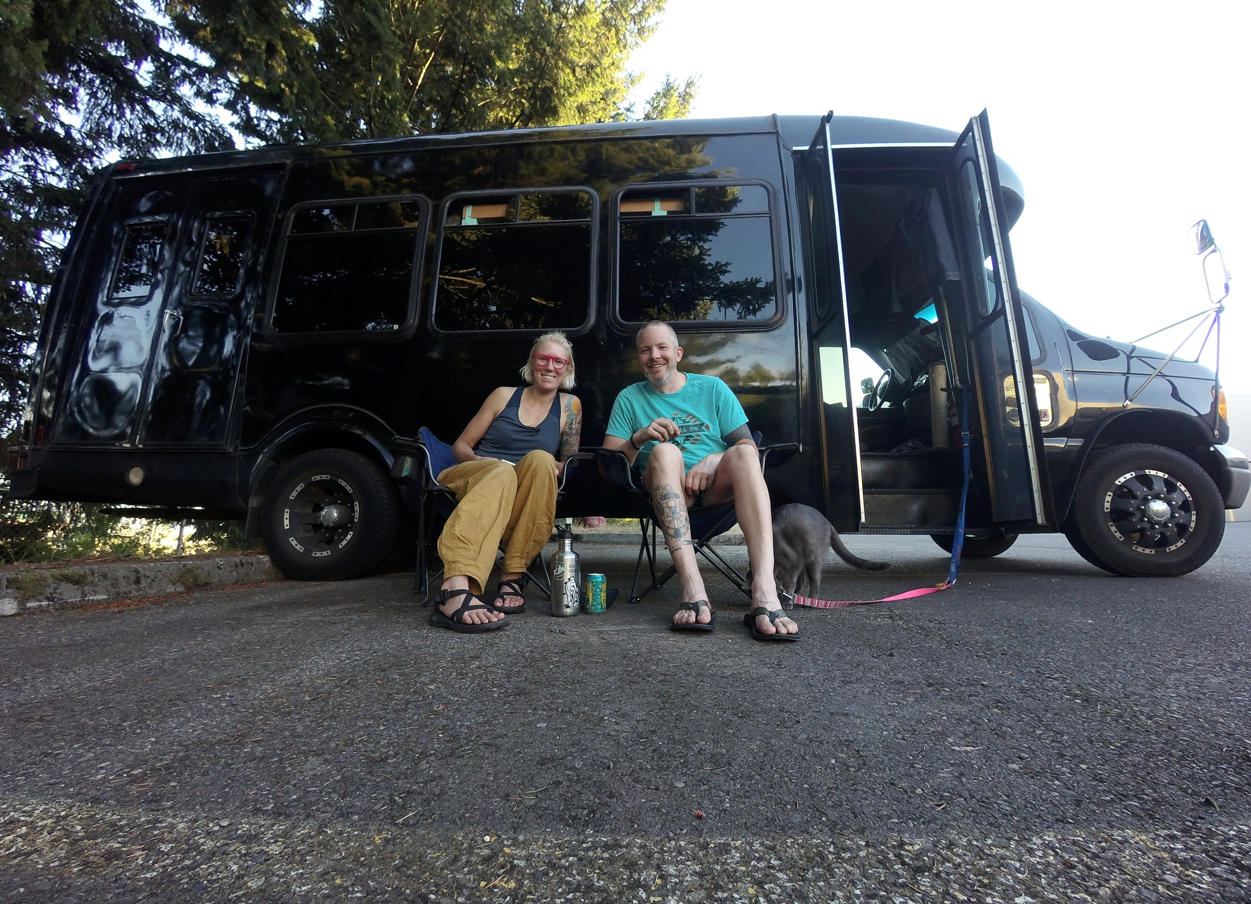We had made it our first year living in our converted bus. Question was, would we try for another?