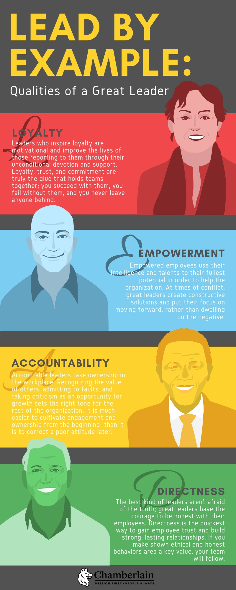 Lead by Example: Qualities of a Great Leader