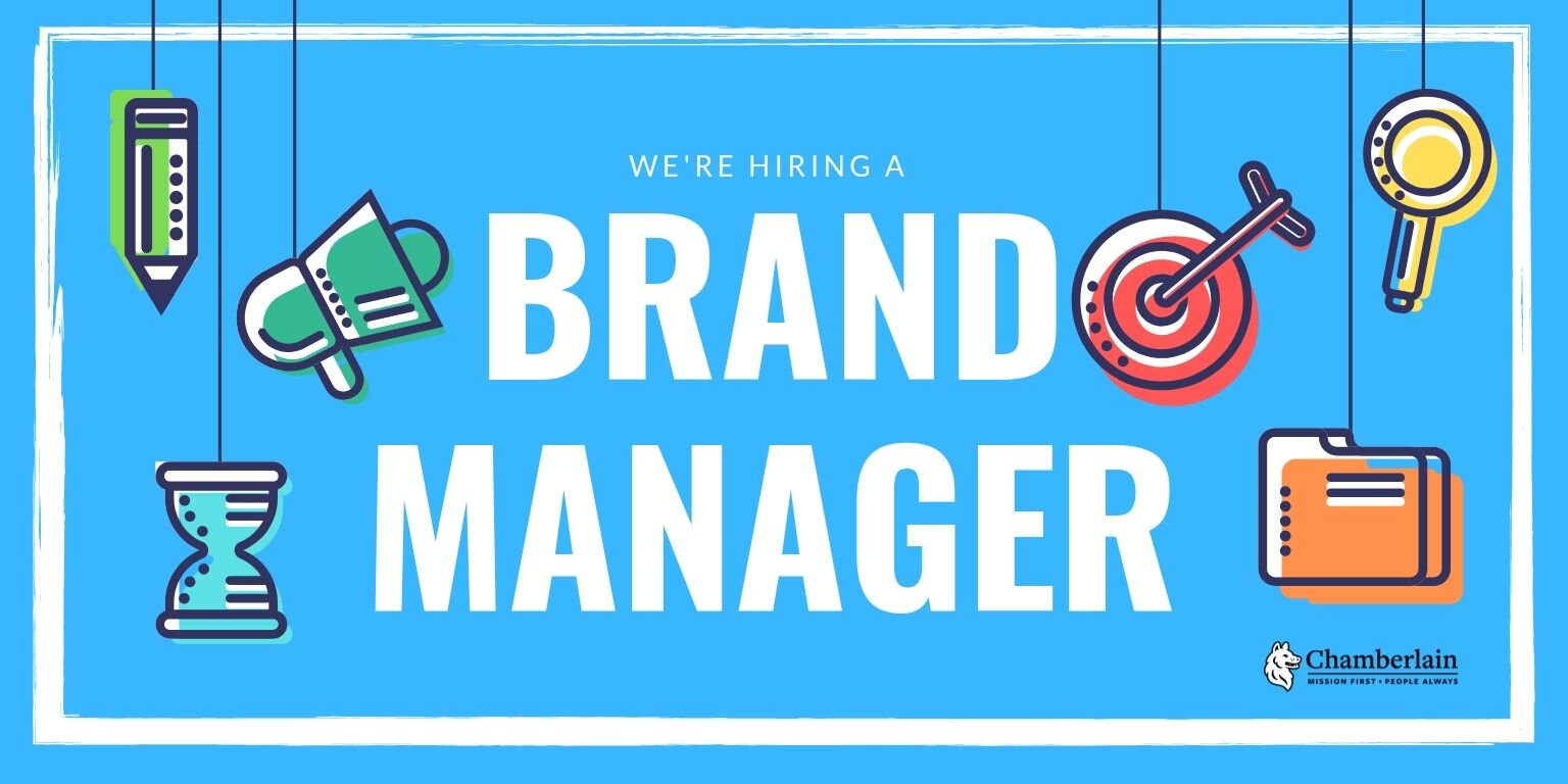 We're hiring a Brand Manager