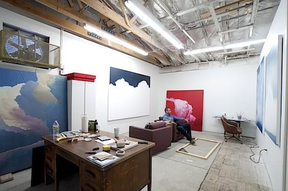 Ian Fisher's Studio