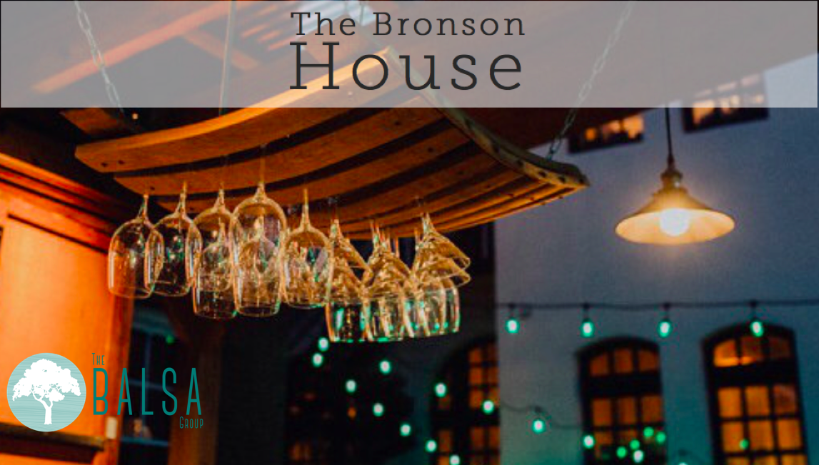 The September BALSA Happy Hour is at The Bronson House from 6-8 PM on September 28. Bring a friend, colleague or labmate to enjoy some drinks, appetizers, and great conversations.    3201 Washington Blvd, St. Louis