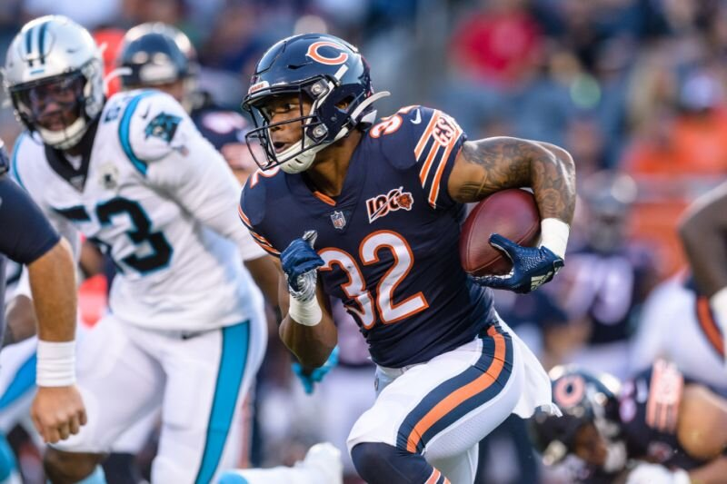 David Montgomery had 19 touches last week, and scored his first touchdown. Those touches only equated to 68 yards but it was nice to see the volume spike up after his 7 touch week 1. The Bears have ran the ball 44.3% of times since 2017 and the Redskins have allowed 4.7 YPC since 2017 (T-4th highest). The game script should be in the Bears favor so look for Montgomery to see a heavily dosage of carries in this one. This offense is also still figuring things out.