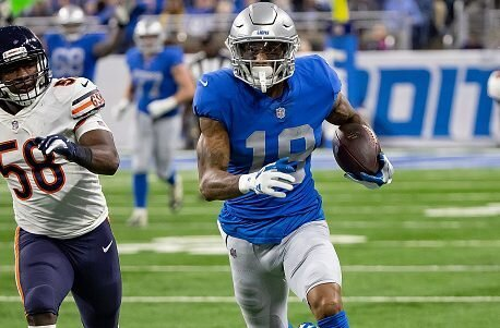 It's looking like it's gonna be a real big year from the third year receiver. Scoring in back to back games, and topping 100 yards against the Chargers. Now he gets the Eagles in a game that should be a high scoring affair. Philly has allowed 3 different receivers to top 100 yards so far through 2 weeks and they're about to give up there 4th.