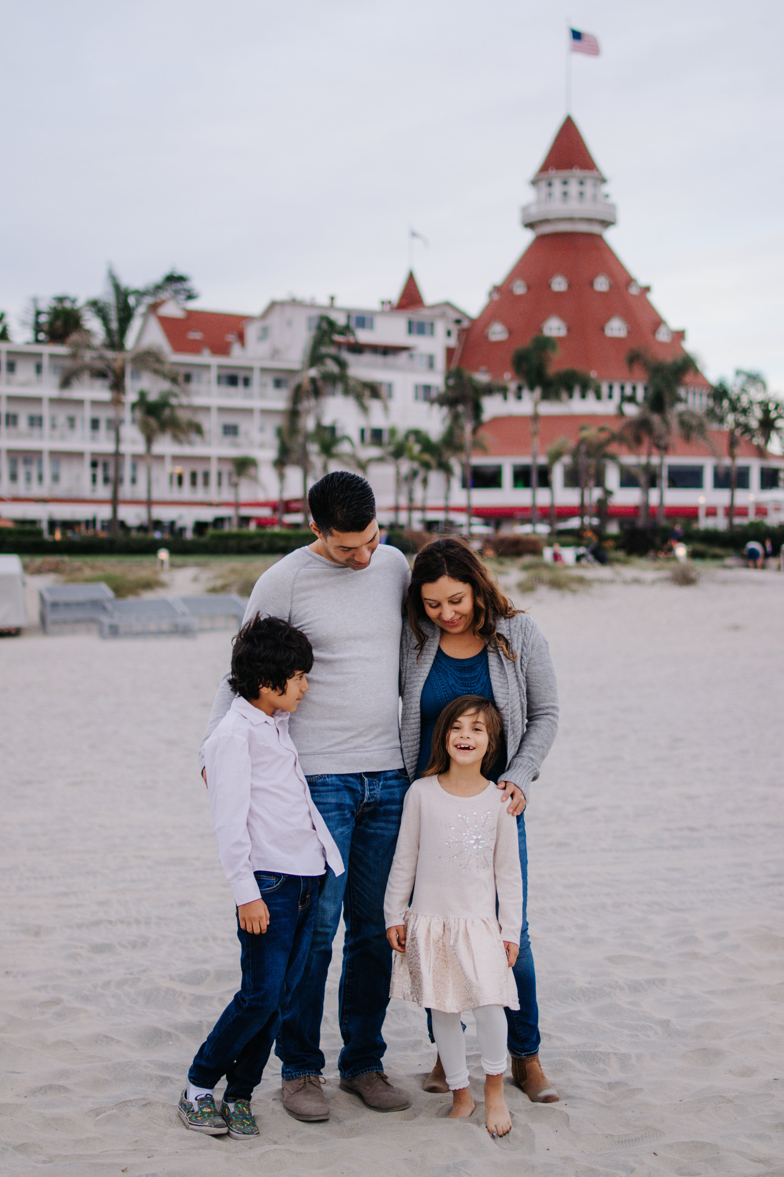 Hotel Del Coronado - This is a classic San Diego spot. I love taking my clients from out of town here because it is so iconic. Sunsets are always beautiful at this spot. The water is clean and sand is white. So dreamy! It can get crowded in the summer, but during off season its empty here!