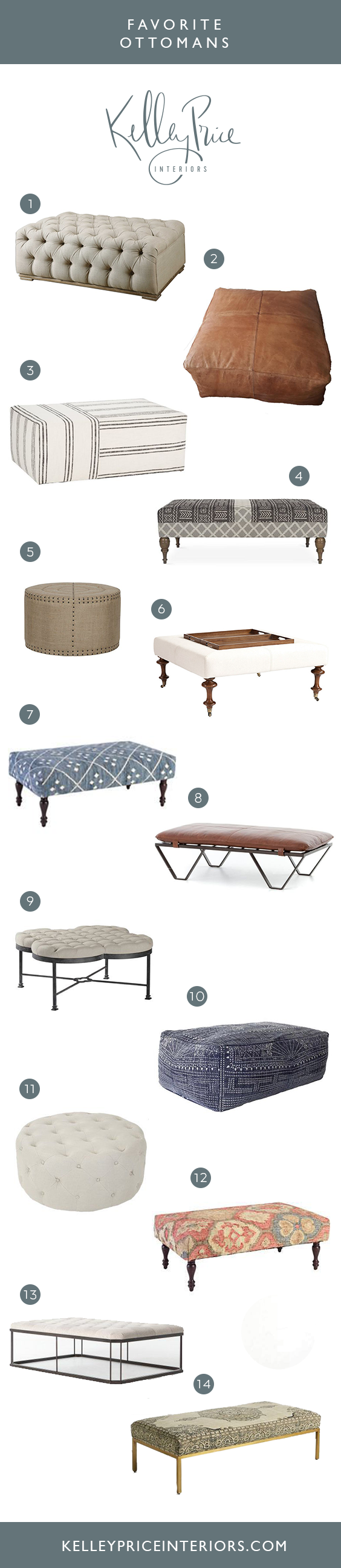 Favorite Ottomans | Kelley Price Interiors.png