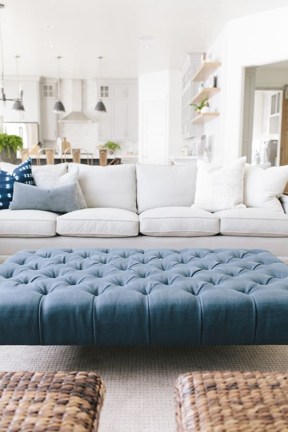 Favorite Upholstered Ottomans |  Kelley Price Interiors