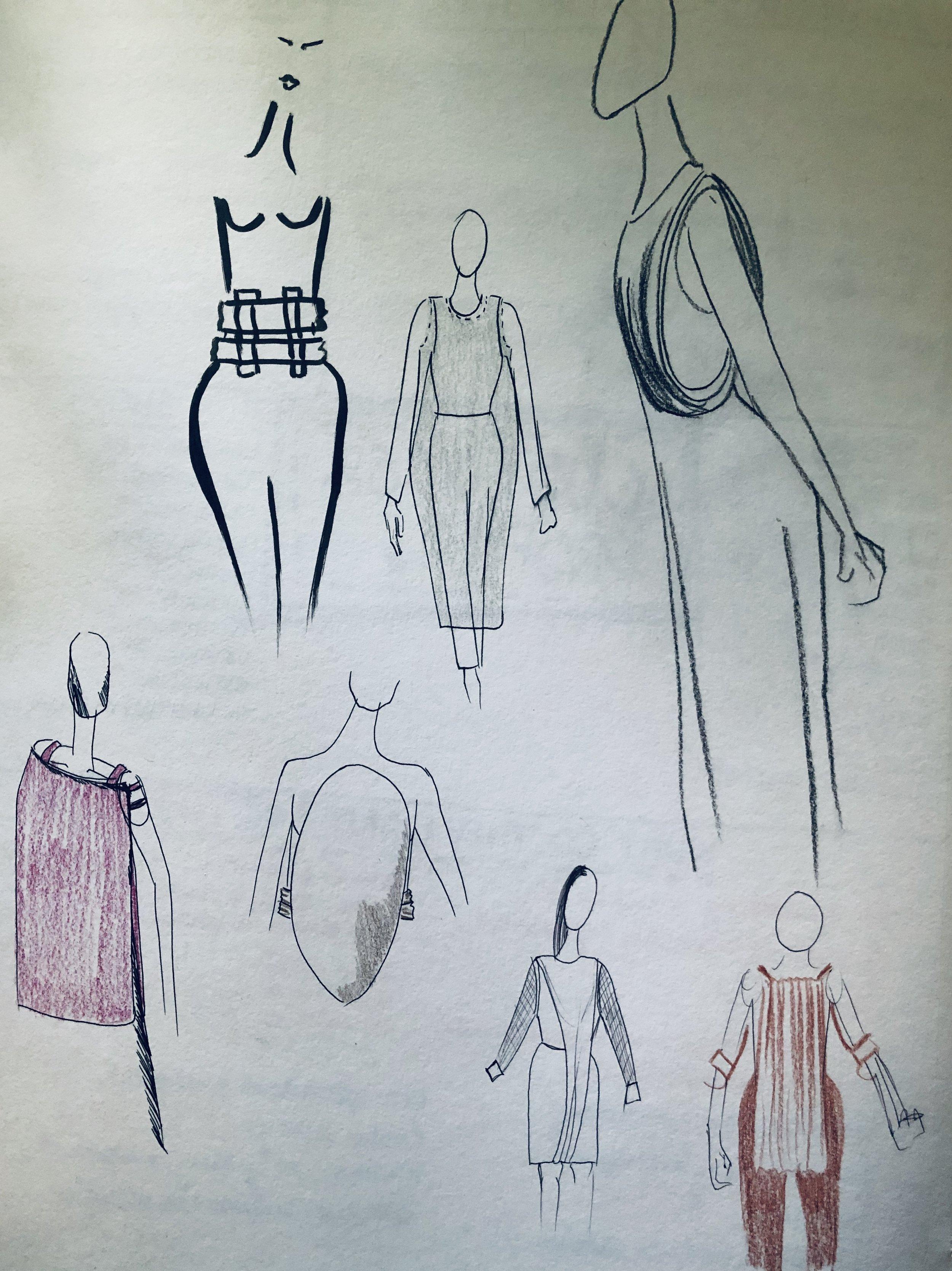 fashionsketchbookdraping