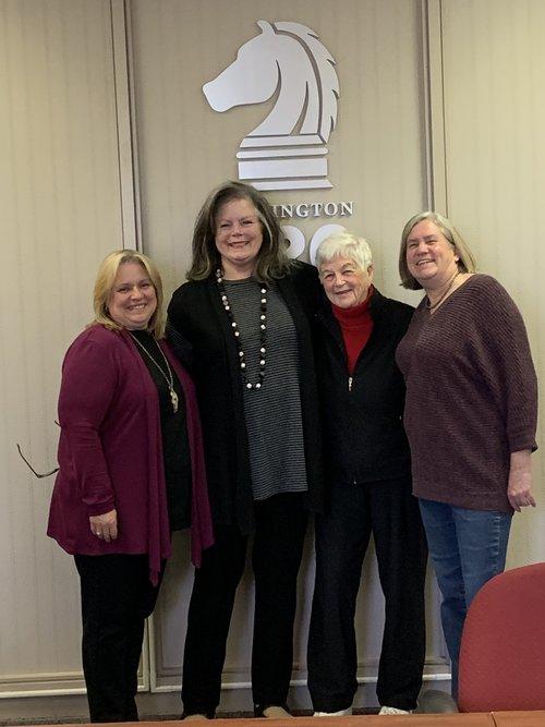 Penny Kazmier, Dede Wamberg, Carol McGregor & Vickie Huff