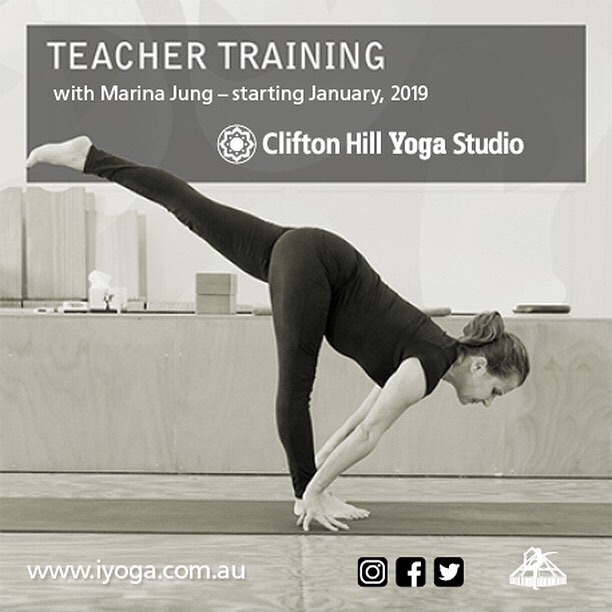 "Repost from @cliftonhillyogastudio⠀ ⠀ ""Our new teacher training program starts on Monday 28 January 2019. Please join Marina at our information night next Friday, 23 November 5pm, at Clifton Hill Yoga Studio.""⠀ .⠀ .⠀ .⠀ .⠀ .⠀ .⠀ .⠀ ⠀ #iyengaryoga #iyengaryogaaustralia #yogateachertraining #yogachallenge #yogalife #yogaeveryday #empowerothers #yogacommunity #yogamelbourne #yogisofoz #yogisofig #teachersofinstagram #teachertrainingcourse #teachertrainingday #yogateachertrainingcourse #yogateachertrainer #yogastudents #deepwork #teachyoga #bodypositivity #community #yogastudent ⠀"