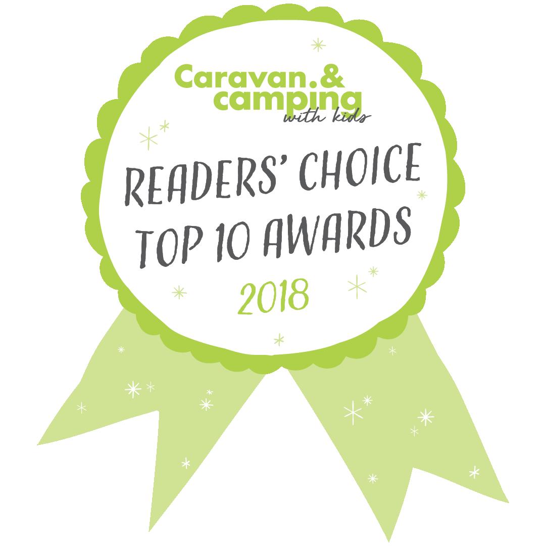 Caravan & Camping with Kids Top 10 Awards
