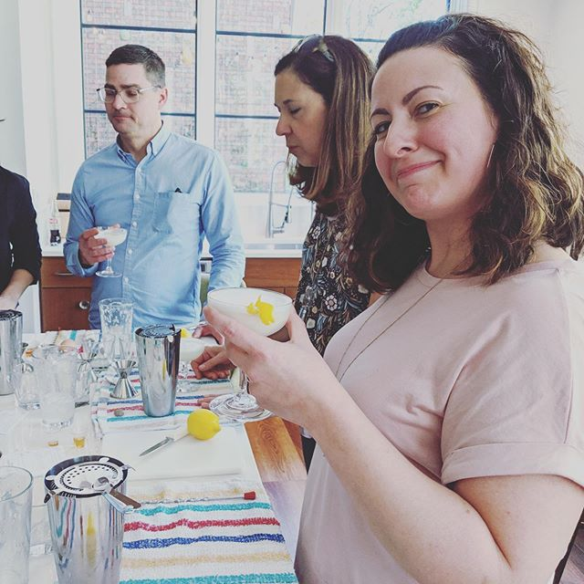 Our next cocktail class is THIS SATURDAY at 3 PM. Sign up today to learn how to shake cocktails and kickstart your bartending skills. Learn something you can drink!