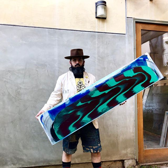 guitar but shapely  electric guitar gun #michaelbrunswick#artist#freedom#clouds#sky#paintings#surf#art#purple#gold#green#picasso#peace#centurydenim#blue#hair#sand#sun#ocean#spiderman#surf#hat#andywarhol#hulk#fun#conceptual#beard#duchamp#water#love#cool link in bio www.michaelbrunswick.com