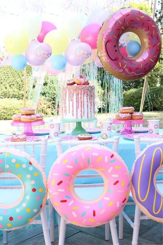 Donut Theme Party Inspired event.