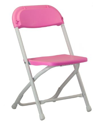 Child's Folding Chair- Pink, White, Blue  Each $1.50