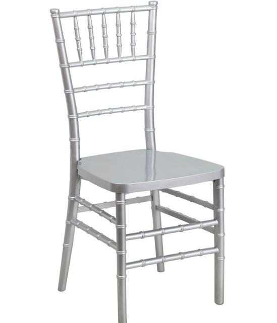 Silver Chivari Chairs $7.50