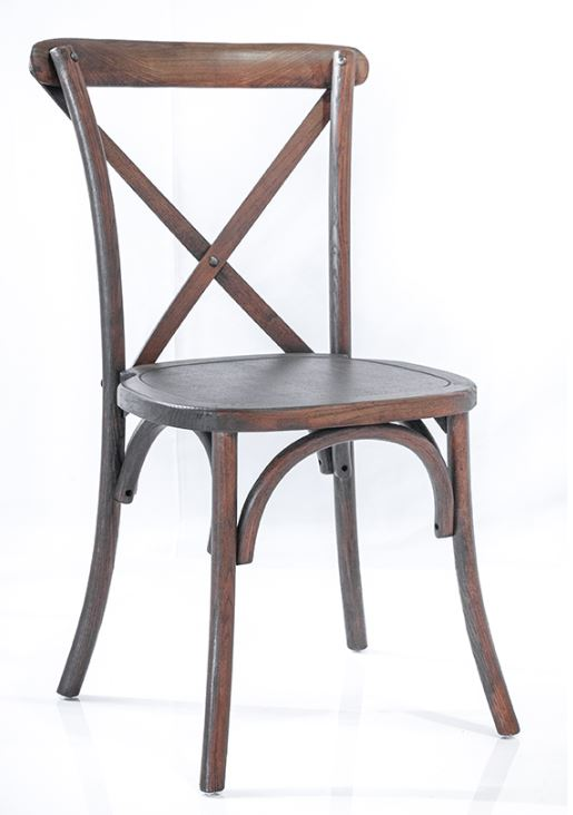 Copy of Crossback Chair Brown $9.75