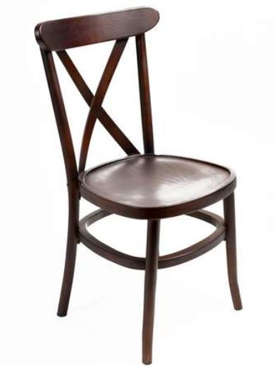Copy of Crossback Chair Dark $9.75