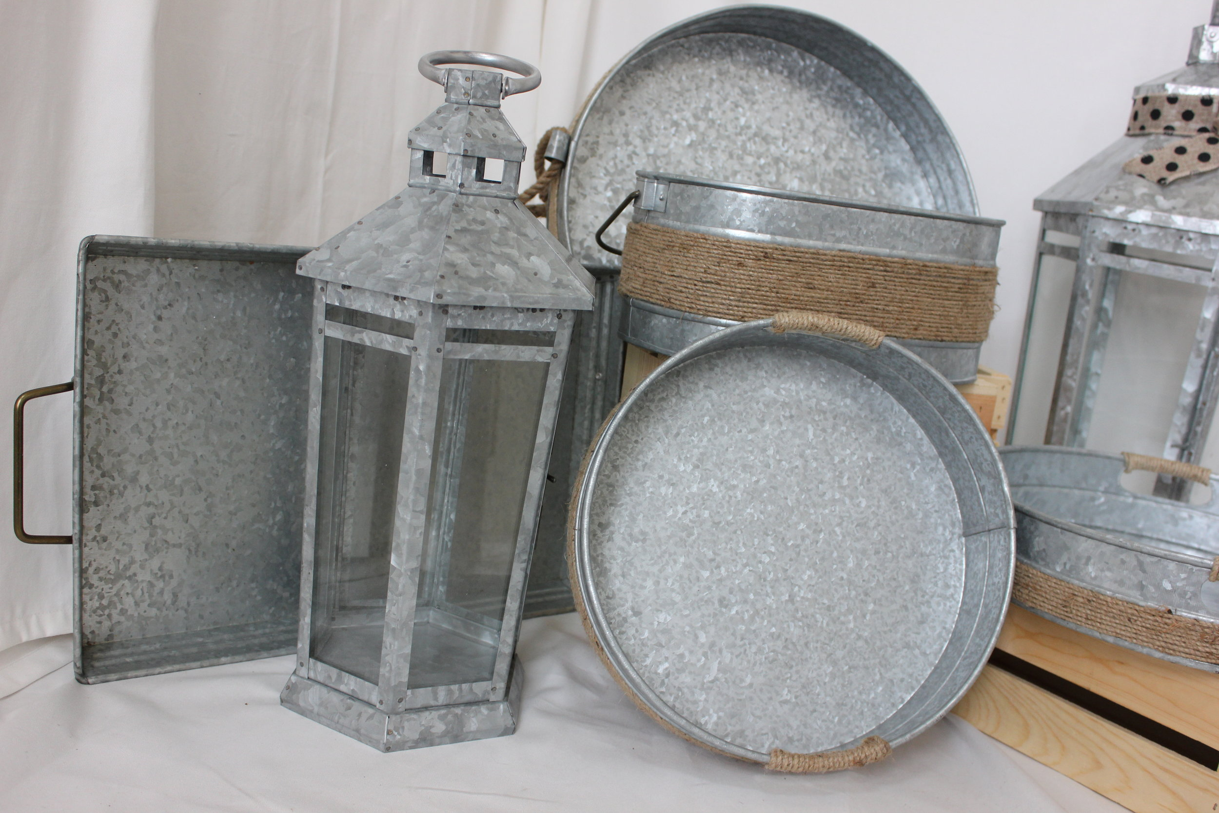Galvanized Set $70.00