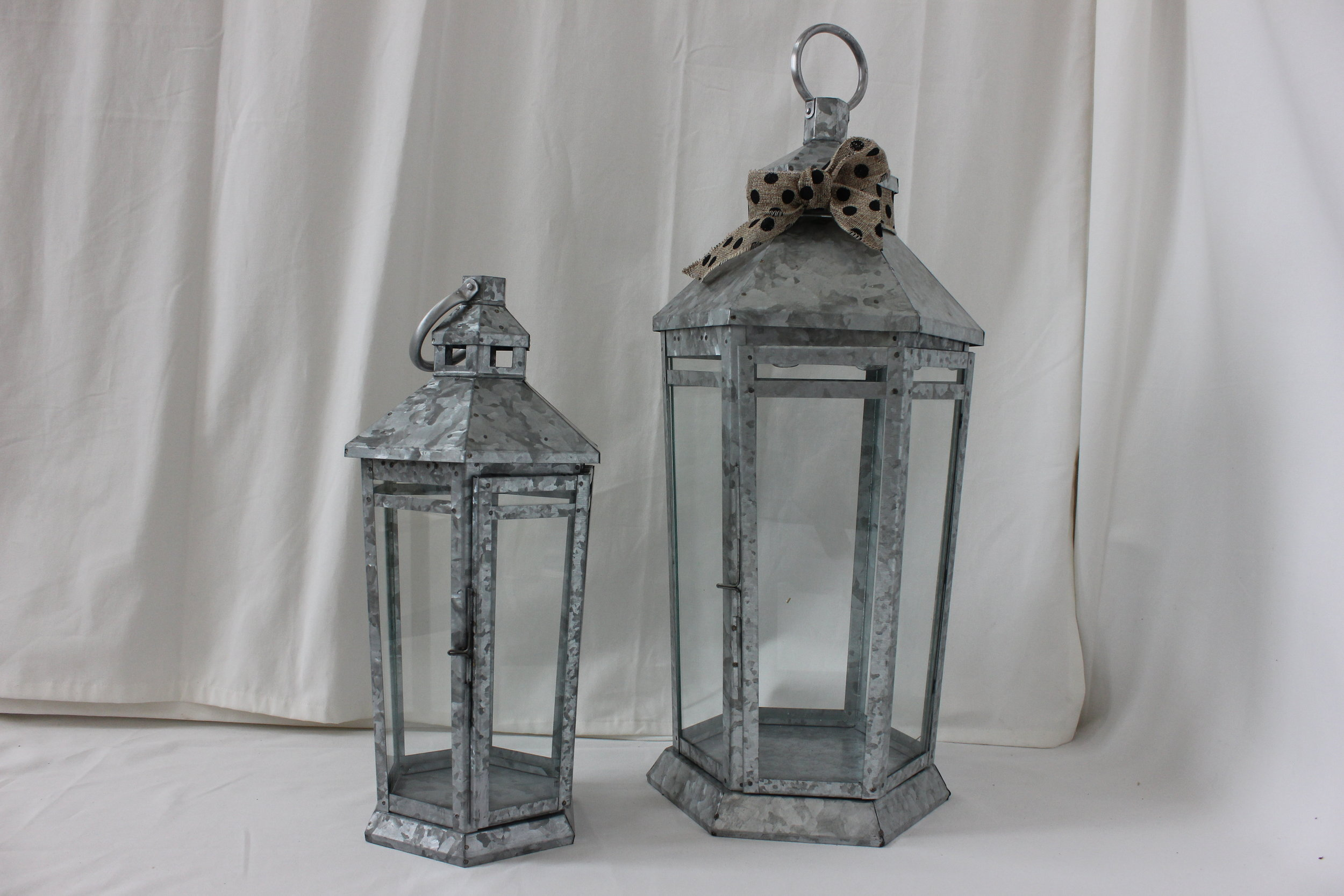 Galavanized Lanterns