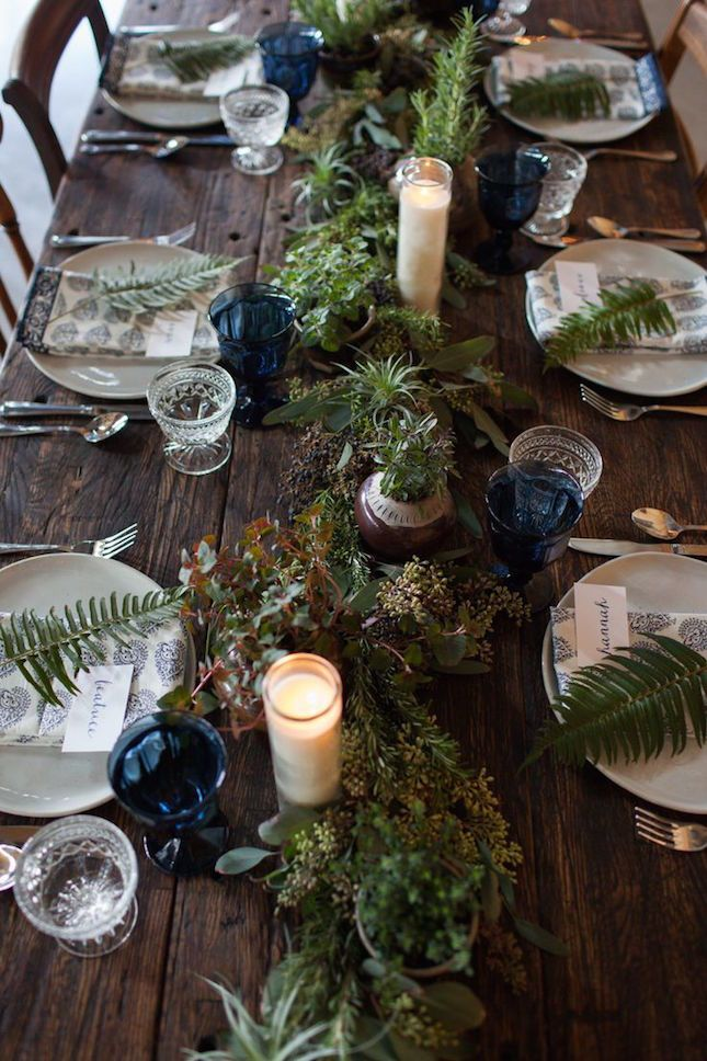 Dark Wooden Farm style table