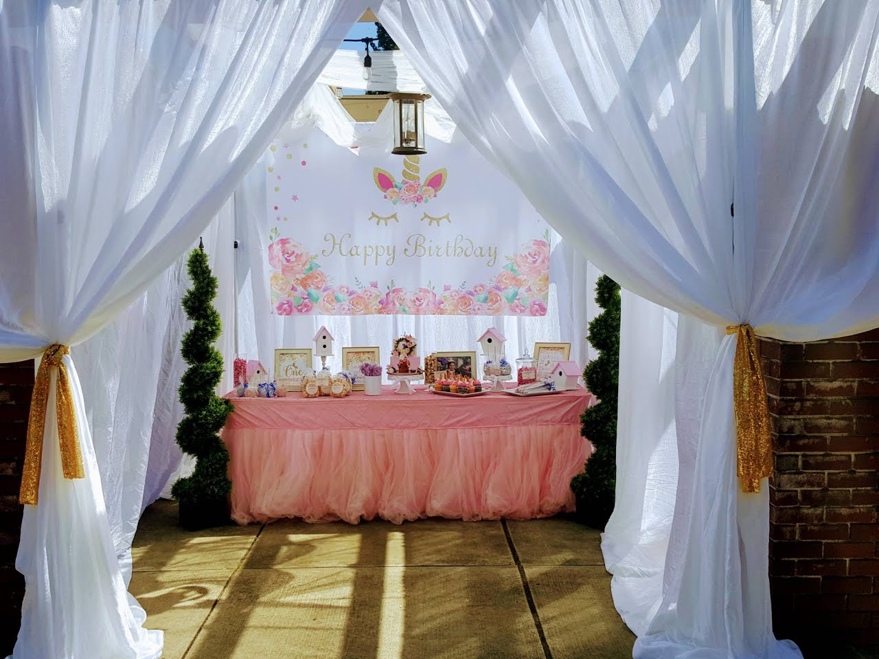 Whimsical Birthday party
